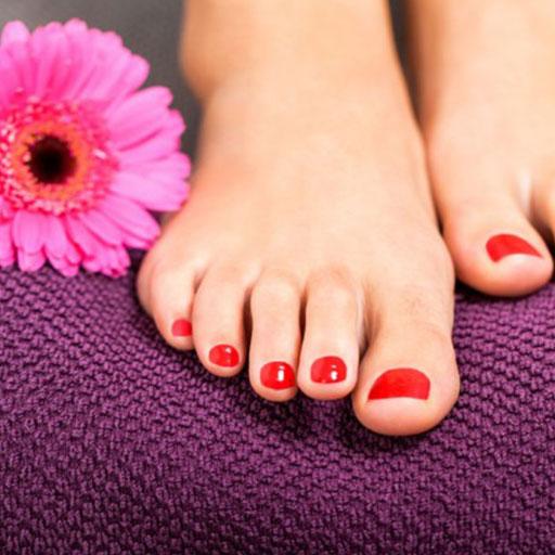 trattamento Estetico Smalto Semipermanente piedi